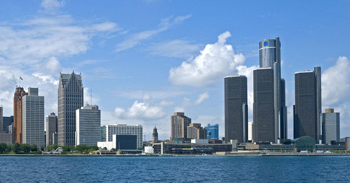 Detroit Skyline | Donner's Financial Services | Retirement Planner Near Detroit, MI